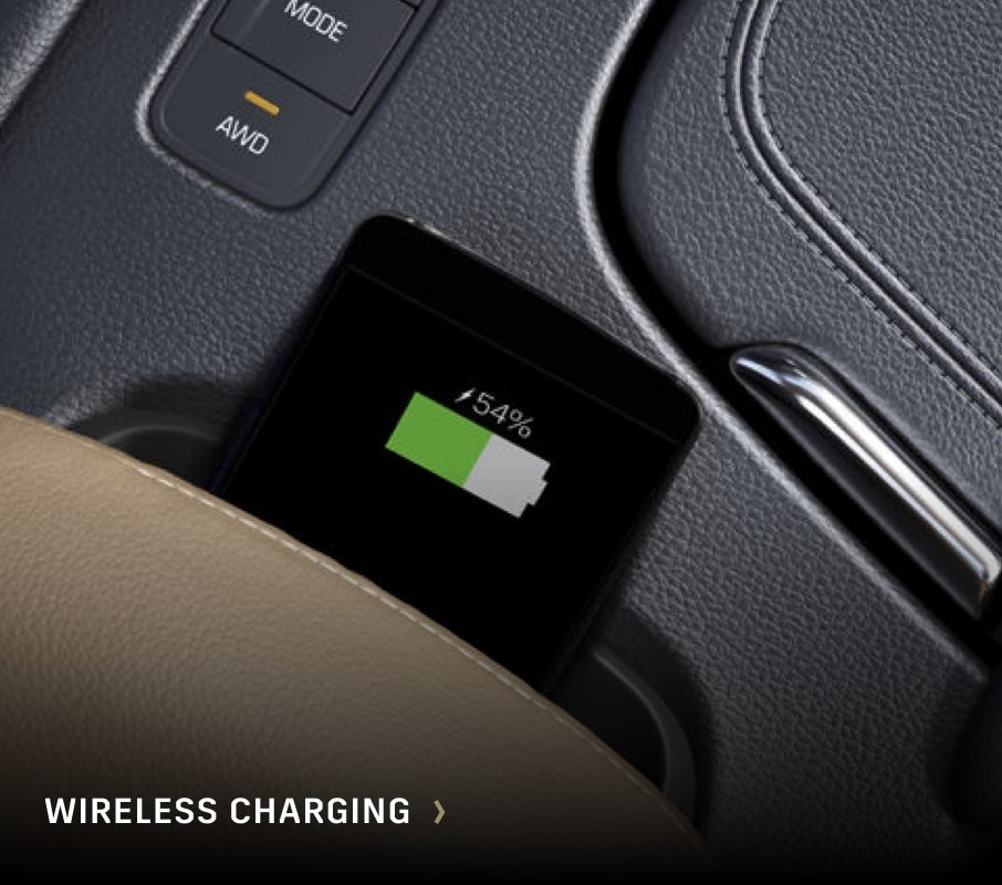 Cadillac Wireless Charging